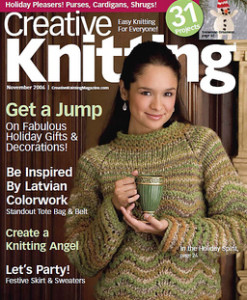 Creative Knitting November 2006